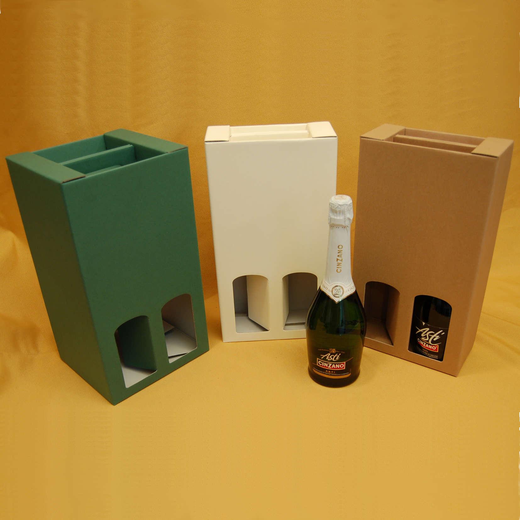 Scatola da Confezione per Bottiglie di Spumante
