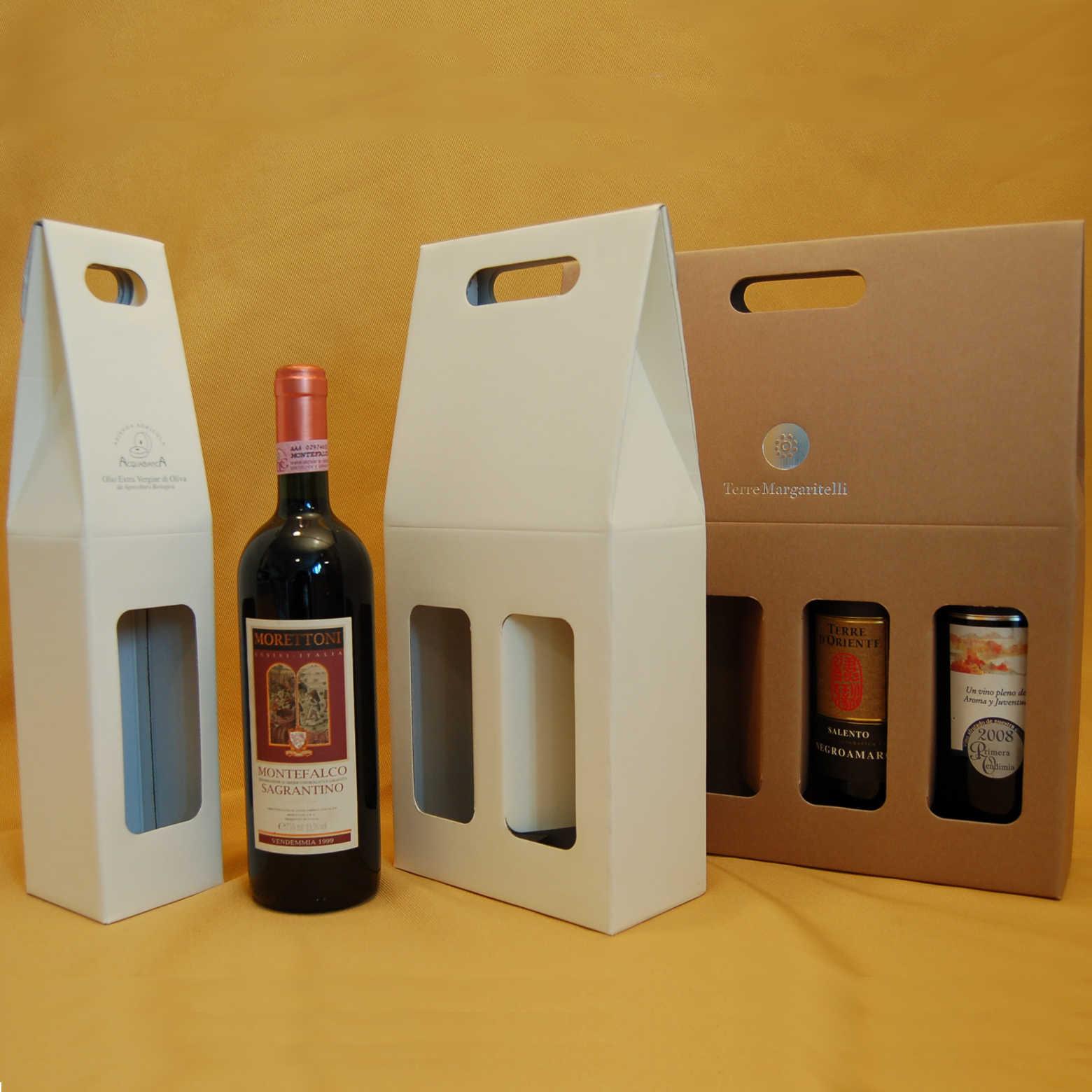 Scatola Confezione Bottiglie Vino Bordolese