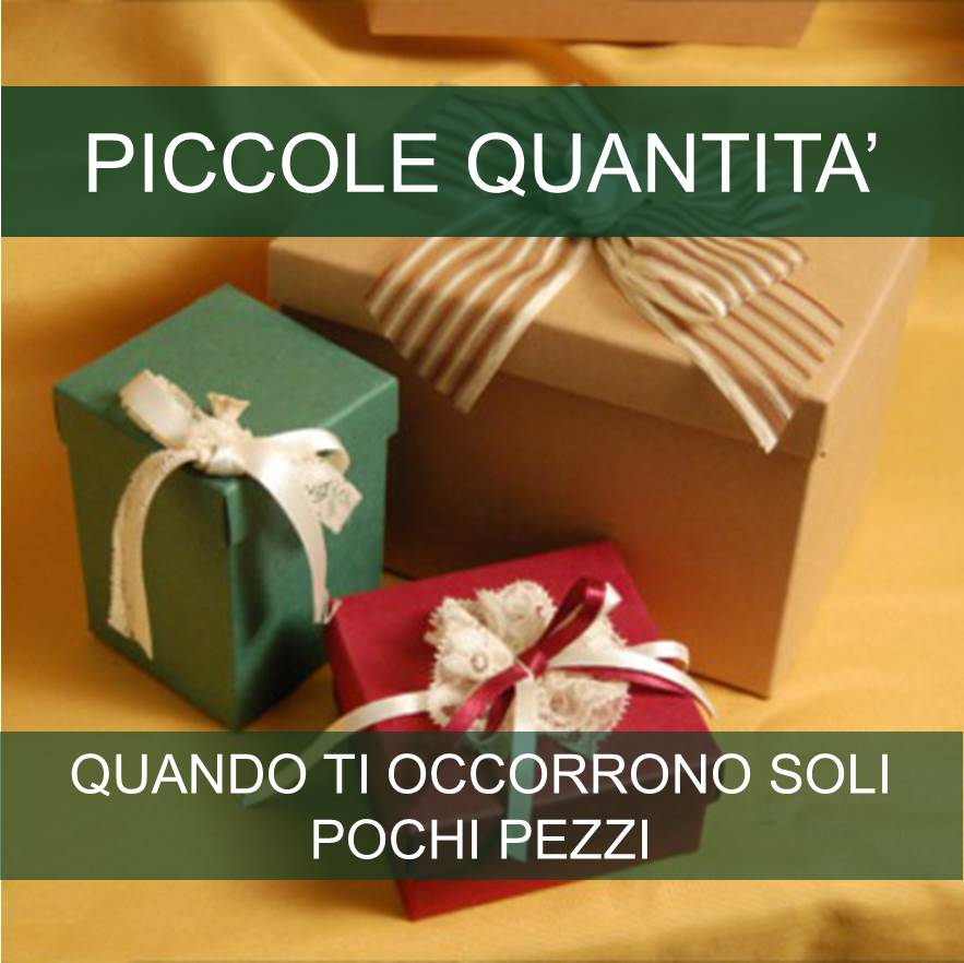 Categoria Piccole Quantità